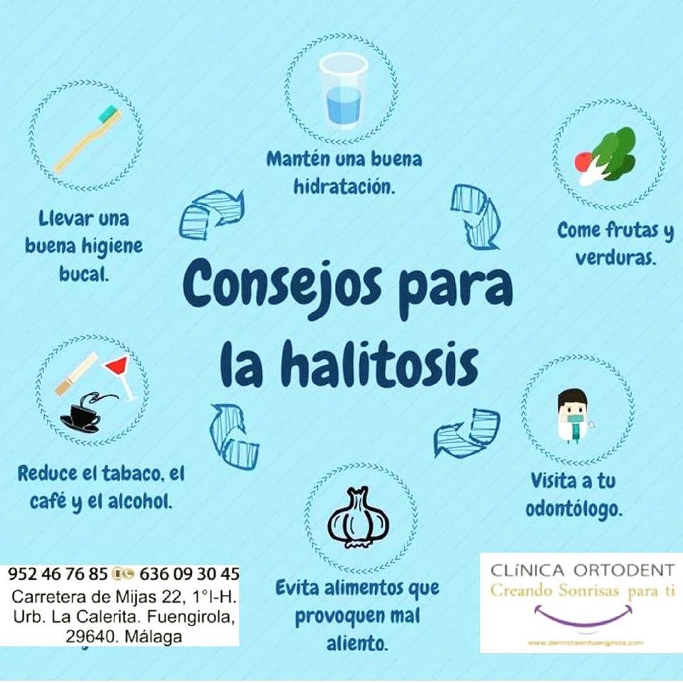 consejos halitosis
